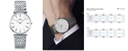 Longines Men's Swiss La Grande Classique De Longines Stainless Steel Bracelet Watch 36mm L47554116