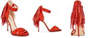 Nine West Hustle Fringed Sandals
