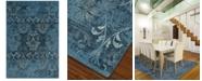 "D Style CLOSEOUT! Menagerie MEN1244 Sky Blue 3'3"" x 5'1"" Area Rug"