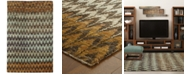 """Tommy Bahama Home Ansley Jute 50908 Brown 3' 6"""" x 5' 6"""" Area Rug"""