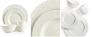 Lenox Dinnerware, Opal Innocence Carved 4 Piece Place Setting