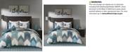 INK+IVY  Alpine Reversible King Chevron Stripe Print Comforter Mini Set