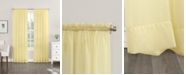 "No. 918 Sheer Voile 59"" x 54"" Rod Pocket Top Curtain Panel"