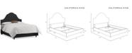 Skyline Jenny Nail Button Bed - California King