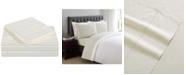 Charisma Classic Cotton Sateen 310 Thread Count Dot Pair of Standard Pillowcases