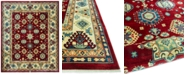 """KM Home CLOSEOUT! Signature Nomad Tribal Red/Beige 9' x 11' 6""""  Area Rug, Created for Macy's"""