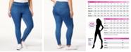 Hue Plus Size Original Denim Leggings, Created for Macy's
