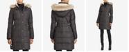 Lauren Ralph Lauren Petite Faux-Fur-Trim Quilted Down Coat, Created For Macy's