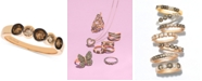 Le Vian Strawberry & Nude™ Diamond Bezel Ring (5/8 ct. t.w.) in 14k Rose Gold