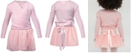 Flo Dancewear Crossover Top & Wrap Skirt, Toddler, Little Girls & Big Girls