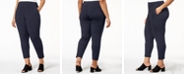 Eileen Fisher Plus Size Stretch Jersey Pull-On Pants