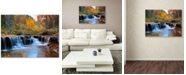 "Trademark Global Pierre Leclerc 'Zion Autumn' 30"" x 47"" Canvas Wall Art"