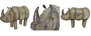 Moe's Home Collection Iron Rhinoceros