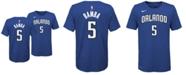 Nike Mohamed Bamba Orlando Magic Icon Name and Number T-Shirt, Big Boys (8-20)