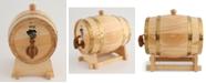Thirstystone CLOSEOUT!  Oak Barrel 3-Quart Wine Dispenser with Stand