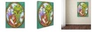 "Trademark Global Jennifer Nilsson Best Friends Forever Canvas Art - 11"" x 14"" x 0.5"""