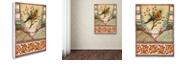 "Trademark Global Rachel Paxton 'Tisbury Bird' Canvas Art, 35"" x 47"""