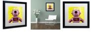 """Trademark Global Craig Snodgrass 'Mehbot' Matted Framed Art, 16"""" x 16"""""""