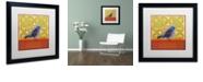 """Trademark Global Rachel Paxton 'Small Bird 194' Matted Framed Art, 16"""" x 16"""""""