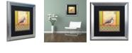 """Trademark Global Rachel Paxton 'Small Bird 229' Matted Framed Art, 16"""" x 16"""""""