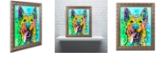 """Trademark Global Dean Russo 'Love And A Dog' Ornate Framed Art, 16"""" x 20"""""""