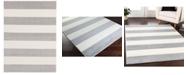 "Surya Horizon HRZ-1094 Medium Gray 6'7"" x 9'6"" Area Rug"