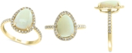 EFFY Collection EFFY® Opal (1-3/4 ct. t.w.) & Diamond (1/3 ct. t.w.) Ring in 14k Gold