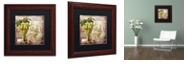 """Trademark Global Color Bakery 'Wine Country Vi' Matted Framed Art, 11"""" x 11"""""""