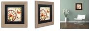 "Trademark Global Color Bakery 'Vermont Summer I' Matted Framed Art, 11"" x 11"""