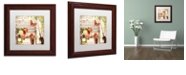 "Trademark Global Color Bakery 'Vermont Summer Iv' Matted Framed Art, 11"" x 11"""