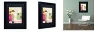 """Trademark Global Color Bakery 'Retro Cities Iv' Matted Framed Art, 11"""" x 14"""""""