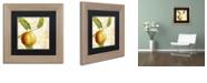 """Trademark Global Color Bakery 'Cafe D?Or V' Matted Framed Art, 11"""" x 11"""""""
