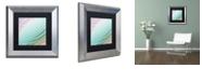 "Trademark Global Color Bakery 'Satin Iv' Matted Framed Art, 11"" x 11"""