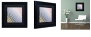 "Trademark Global Color Bakery 'Satin Vi' Matted Framed Art, 11"" x 11"""