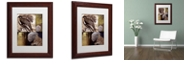 """Trademark Global Color Bakery 'On The Hunt Iii' Matted Framed Art, 11"""" x 14"""""""