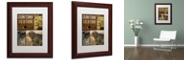 "Trademark Global Color Bakery 'Hunting Season Iv' Matted Framed Art, 11"" x 14"""