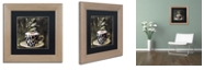 """Trademark Global Color Bakery 'Afrikan Coffees I' Matted Framed Art, 11"""" x 11"""""""