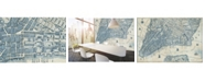 Brewster Home Fashions Old Vintage City Map New York Wall Mural