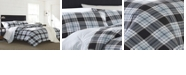 Eddie Bauer Lewis Plaid Atlantic Full/Queen Comforter Set