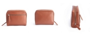 Royce Leather Royce New York Toiletry Bag with Front Zipper Compartment