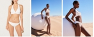 Michael Kors Logo-Ring Halter Bikini Top & Bikini Bottoms, Created for Macy's