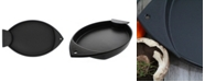 """Chasseur French Fish Shaped Cast Iron 16"""" Griddle"""