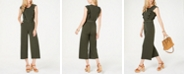 Michael Kors Ruffled Belted Jumpsuit, Regular & Petite
