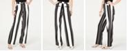 INC International Concepts I.N.C. Petite Nolita-Stripe Wide-Leg Pants, Created for Macy's