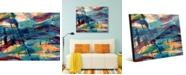 "Creative Gallery Whydah Abstract 16"" x 20"" Acrylic Wall Art Print"