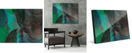 "Creative Gallery Turquoise Tinted Buddha Abstract 16"" x 20"" Acrylic Wall Art Print"