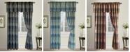 "United Curtain Co Inc Plaid 54"" X 63"" Window Panel"
