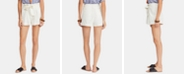 Free People Everywhere You Go Cotton Paperbag Belted Shorts