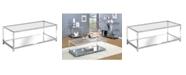 Furniture of America Jask 1-Shelf Coffee Table