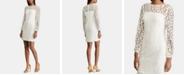 Lauren Ralph Lauren Petite Floral-Lace Dress